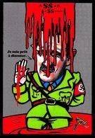 CPM Syrie Assad Jihel Tirage Signé 30 Exemplaires Numérotés Signés Satirique Caricature - Syrie