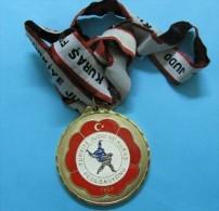 AC - TURKEY MEDAL OF TURKISH JUDO FEDERATION #1 - Tokens & Medals