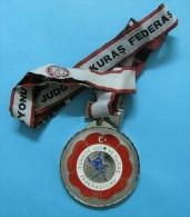 AC - TURKEY MEDAL OF TURKISH JUDO FEDERATION #2 - Tokens & Medals