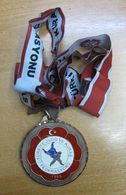 AC - TURKEY MEDAL OF TURKISH JUDO FEDERATION #3 - Tokens & Medals