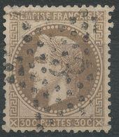 Lot N°40644   Variété/n°30, Oblit étoile Chiffrée 3 De PARIS (Pl De La Madeleine), Filet OUEST Et SUD Absent, Filet NORD - 1863-1870 Napoléon III Lauré