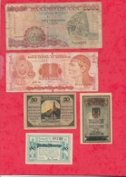 Pays Du Monde 10 Billets état Voir Scan  Lot N °415 (Allemagne 3 Billets En SUP) - Alla Rinfusa - Banconote