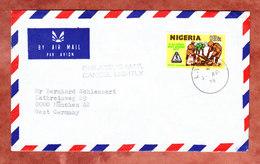 Luftpost, EF Pfadfinder, Lagos Nach Muenchen 1979 (46712) - Nigeria (1961-...)