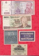 Pays Du Monde 10 Billets état Voir Scan  Lot N °416 (Allemagne 3 Billets En SUP) - Coins & Banknotes