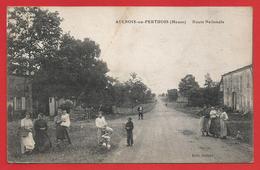 CPA Aulnois En Perthois - Route Nationale - Francia
