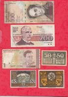 Pays Du Monde 10 Billets état Voir Scan  Lot N °418 (Allemagne 3 Billets En SUP) - Coins & Banknotes
