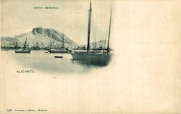 ALICANTE - VISTA GENERAL. - HAUSER Y MENET 340 - Alicante