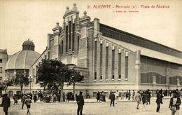 ALICANTE, MERCADO O PLAZA DE ABASTOS - Alicante