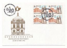 Opendeurdagen Postkantoor Wetteren 1992 - Entiers Postaux