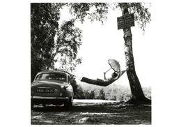 Paulette Dubost Pose Pour Simca Par Doisneau (1959) - Doisneau