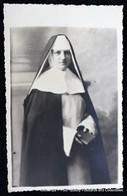 Portrait Dominicaine Soeur Marie-Josephine (Anne-Marie MINIQUE) Sombreffe Lot Lubbeek 1944 - Lubbeek