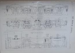 GENIE CIVIL 1906 N°1242:USINE ELEVATOIRE DE MESSEIN(NANCY)/WAGON 6 ESSIEUX CIE INTERNATIONALE WAGON-LIT - Non Classés