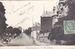 95. MONTMORENCY .CPA . L'ERMITAGE. ANNÉE 1907 - Montmorency