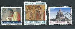 VATICAN  Yvert  N° 897-937-942  Oblitérés - Vatican