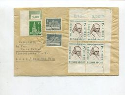 Berlin / 1960 / Mi. 163 2x ER-Paare 1x Mit Formnummer U.a. A. Bf. O Frankfurt (02924) - Berlin (West)