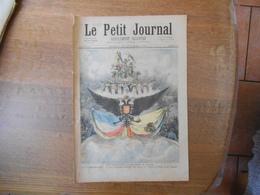 LE PETIT JOURNAL DU 28 OCTOBRE 1893 LES FÊTES FRANCO-RUSSES A PARIS L'APOTHEOSE A L'OPERA,LE CARROUSEL DANS LA GALERIE D - 1850 - 1899