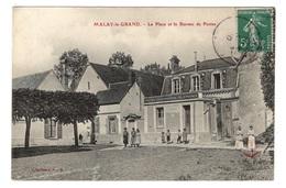 89 YONNE - MALAY LE GRAND La Place Et Le Bureau De Postes - France