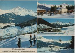 Wintersportplatz Savognin Im Oberhalbstein En Hiver - Photo: Gross - GR Grisons