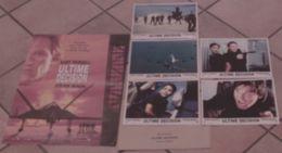 AFFICHE CINEMA ORIGINALE FILM ULTIME DECISION + 5 PHOTOS EXPLOITATIONS STEVEN SEAGAL KURT RUSSELL HALLE BERRY 1996 - Posters