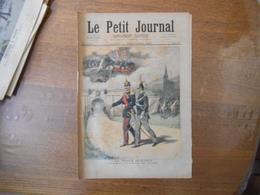 LE PETIT JOURNAL DU 16 SEPTEMBRE 1893 LA TRIPLE ALLIANCE LE PETIT FILS DU CAPORAL DES ZOUAVES,LA DOUBLE ALLIANCE DEUX BO - 1850 - 1899