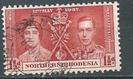 Rhodésie Du Nord      - Yvert N° 22 Oblitéré    -  Po57043 - Northern Rhodesia (...-1963)