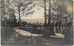 Foto Seehöhe Bei Arys Generalfeldmarschall Von Hindenburg Bei Denkmalseinweihung Für Gefallene Krieger 1915 Ostpreussen - Monumenti Ai Caduti
