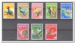Maleisië 1965, Postfris MNH, Birds - Malaysia (1964-...)
