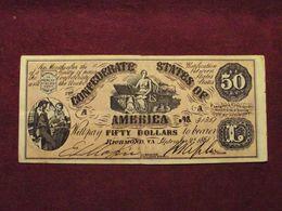 Etats-Unis - 1861 State Of Richmond, Confederate States Of America $50 USA - United States Of America