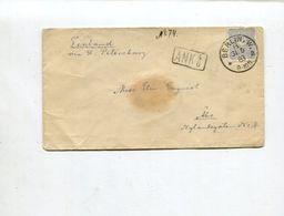 Deutsches Reich / 1883 / Bf. EF O Berlin Nach Finnland, R1-o ANK 4 6 (02931) - Deutschland
