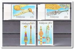 Maleisië 1987, Postfris MNH, Music Instruments - Maleisië (1964-...)