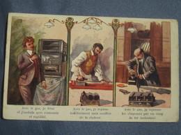 C.P.A - RÉCLAME POUR LE GAZ - PUBLICITÉ. - Cartes Postales