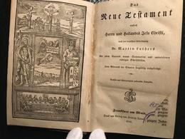Das Neue Testament - Dr. Martin Luthers - 1845 - Livres, BD, Revues