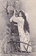 Happy New Year, Bonne Année Gelukkig Nieuwjaar 1903, Crois, Espere, Aime, Glitters (pk43356) - Nouvel An