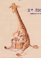 Facture 1920 / Savon LA GIRAFE / Charles Roux & Ch. Canaple / 13 Marseille - Autres
