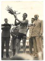 PHOTO - CYCLISME-TOUR DE FRANCE 1960 - GASTONE NENCINI ( 13 Cm X 18 Cm) - Cycling