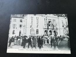 CLUSES Fete Des Musiques, 1909. Place De L'Hotel De Ville - Cluses