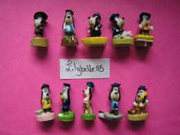 Série Complète De 10 Fèves En Porcelaine - DROOPY REGIONAL 2008 ( Feve) - Cartoons