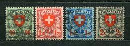 Schweiz Nr.194/7         O  Used       (1089) - Schweiz