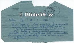 Télégramme Du 8-6-1944 - Sous-Préfet De Béthune (62) à Mairie De Carvin (62) - Stock De Farine Chez Les Boulangers - Télégraphes Et Téléphones