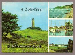 (L08)  BRD -(DDR-Zeit) - AK: Hiddensee / Leuchtturm, Kloster, Neuendorf - Hiddensee