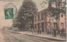 CPA Boissy L'Aillerie - La Gare (avec Jolie Animation) - Boissy-l'Aillerie