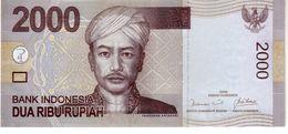 Indonesia P.148 2000 Rupiah 2009  Unc - Indonesia