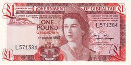 Gibralatar P.20e 1 Pound 1988 Unc - Gibilterra