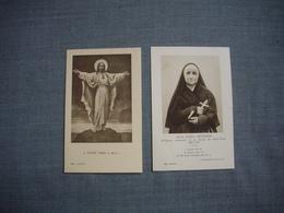 IMAGE RELIGIEUSE  -  Soeur Josefa  MENENDEZ   +  Paroles Extraites  De Soeur Ménendez - Santini