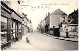 28 NOGENT-le-ROI - Rue De L'Eglise - Nogent Le Roi