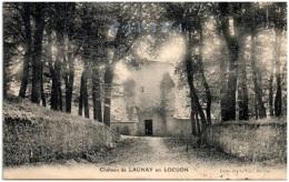 56 Chateau De Launay En LOCUON - Autres Communes