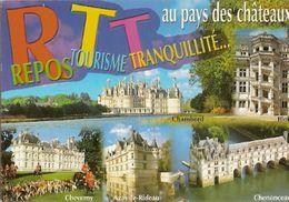 France & Circulated, Aux Pays Des Châteaux, Ses Monuments Amboise, Tremblay-en-France 2004 (675) - Monuments
