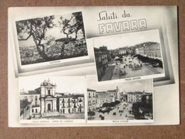 FAVARA - VEDUTE  - 1956 -   -BELLA - Italia