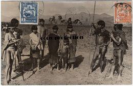 Tonkin, Tong, Indochine, Volk, Typen, Tracht, Alte Foto Postkarte 1930 - Vietnam