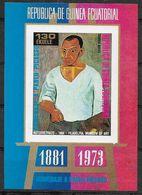 1973 GUINEE EQUATORIALE Michel BF 91** Picasso, Autoportrait, Epreuve De Luxe Non Dentelée - Guinée Equatoriale